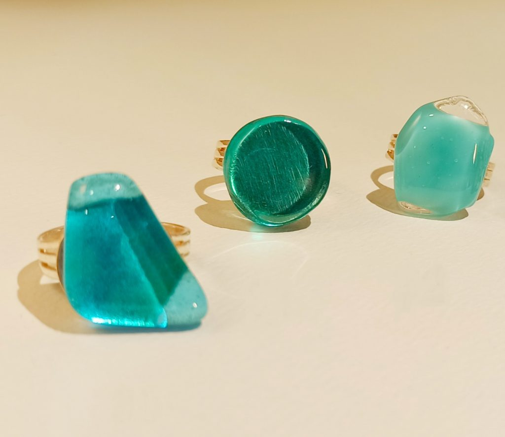 bagues turquoises