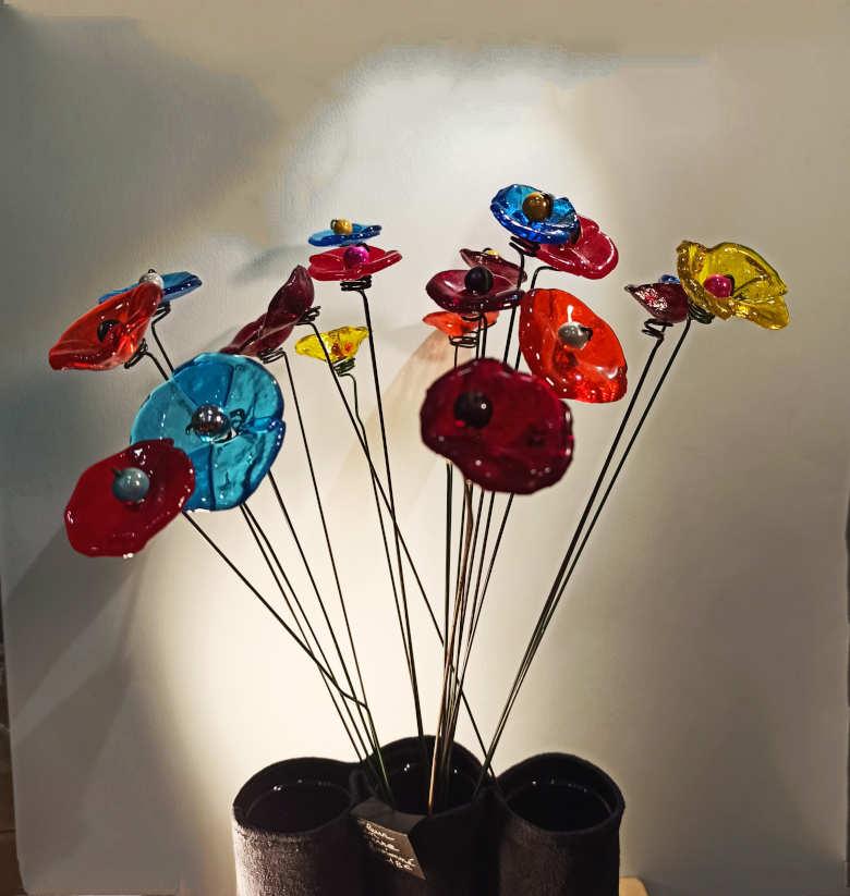 bouquet de petites fleurs fusionné