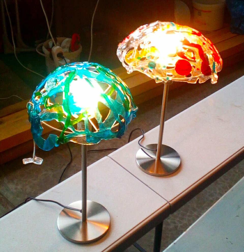 lampes en verre