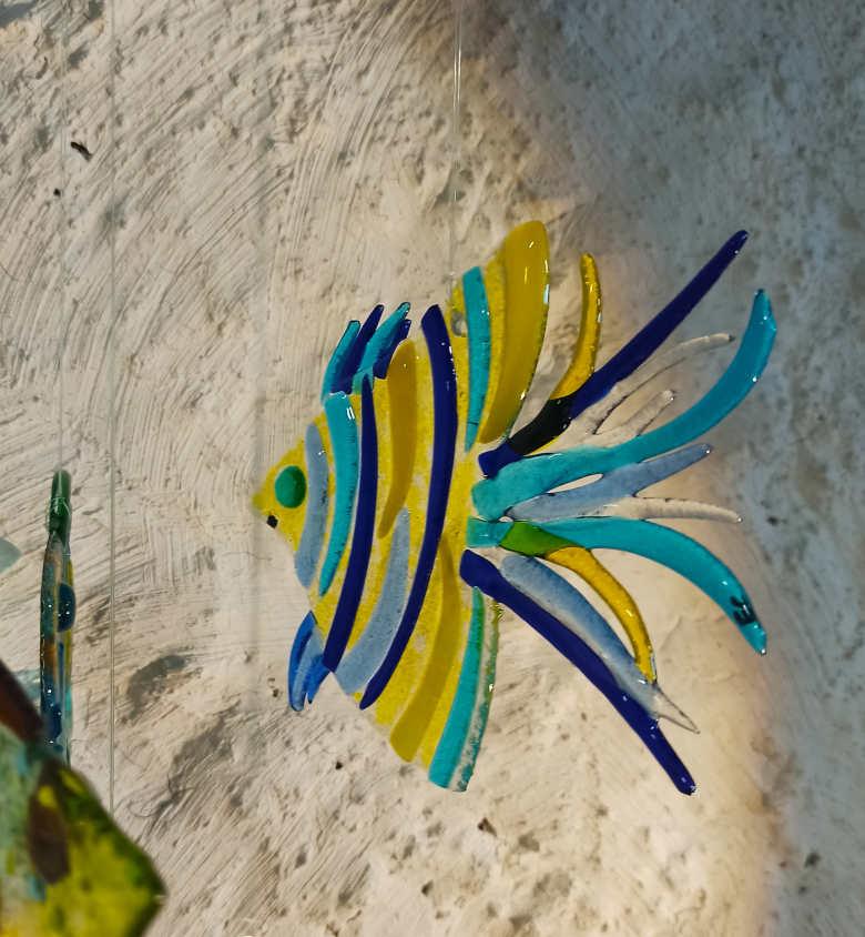 poisson jaune bleu