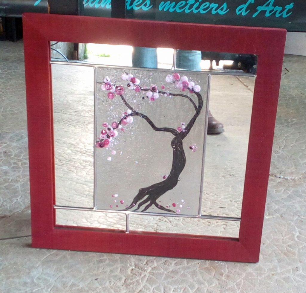 miroir cerisier japonnais